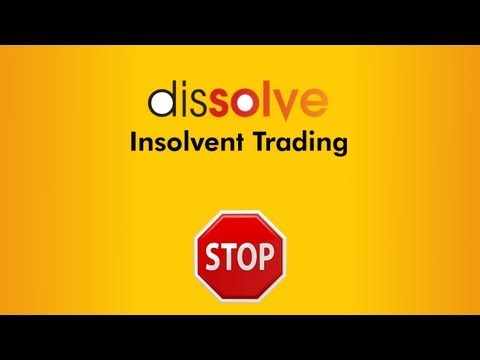 Insolvent Trading