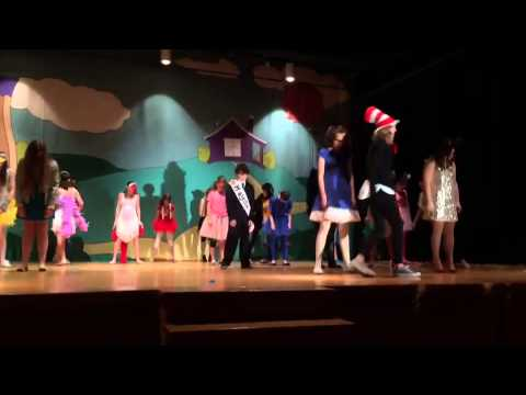 Upper Township middle school's  Seusical the musical