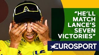 How Many Tours Can Bernal Actually Win? | The Bradley Wiggins Show | Eurosport