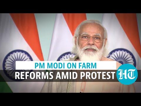 'Farm reforms to provide new markets, benefits': PM Modi assures farmers