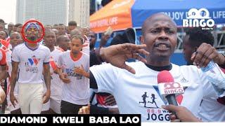 KITENGE Amnyooshea Mikono DIAMOND Kwenye MBIO/Kweli Anayo Pumzo ya KUTOSHA/Atakaa Jukwaani Masaa 4