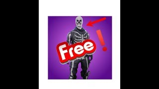 How to get the Skull trooper for FREE! Fortnite