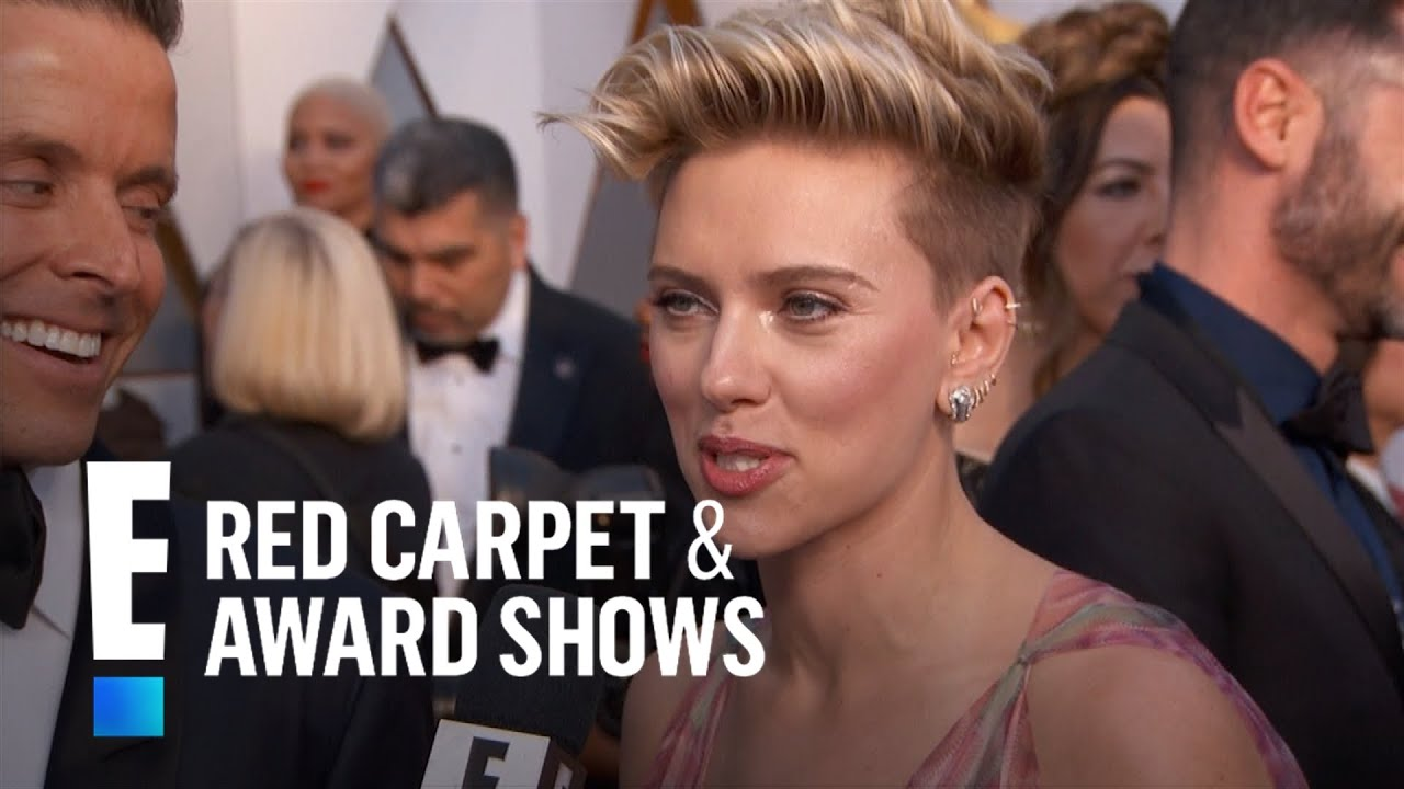 Is scarlett johansson an adrenaline junkie e red carpet award shows youtube - Watch e red carpet online ...
