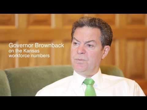 Kansas Gov. Sam Brownback on the economy and workforce (December 2015)