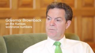 Kansas Gov. Sam Brownback on the economy and workforce (December 2015)