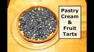 Pastry Cream And Fruit Tarts - A Great Cold Dessert