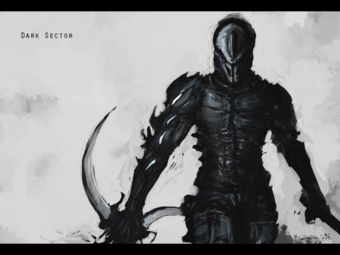 Убиваю огромного монстра в игре Dark Sector