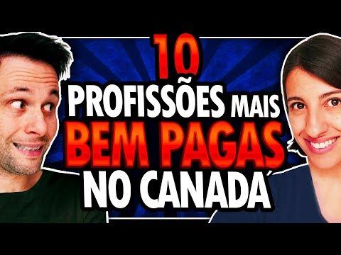 10 PROFISSÕES MAIS BEM PAGAS NO CANADÁ - TRABALHAR NO CANADÁ