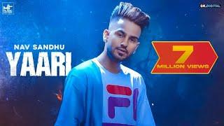 YAARI ( FULL VIDEO ) NAV SANDHU | YOUNG ARMY |  MUSIC FACTORY | LATEST PUNJABI SONGS 2019
