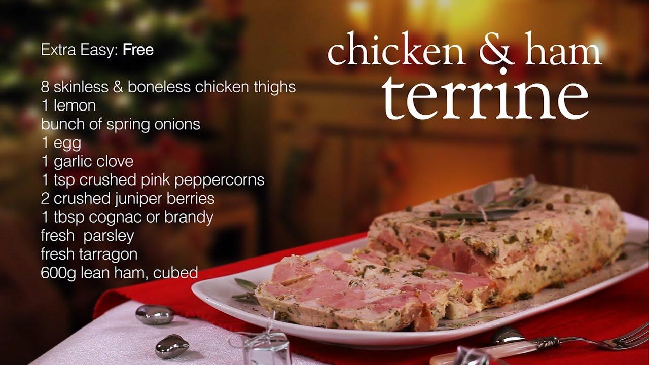 Easy meat terrine recipe