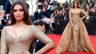 Sonam Kapoor's Choice Of Dress At Cannes 2017 Red Carpet CONFUSED Us