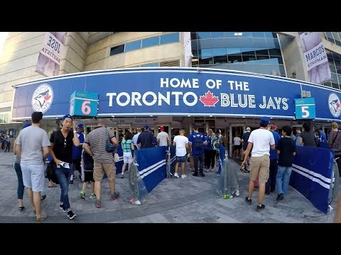 The Journey To Get To A Toronto Blue Jays Game
