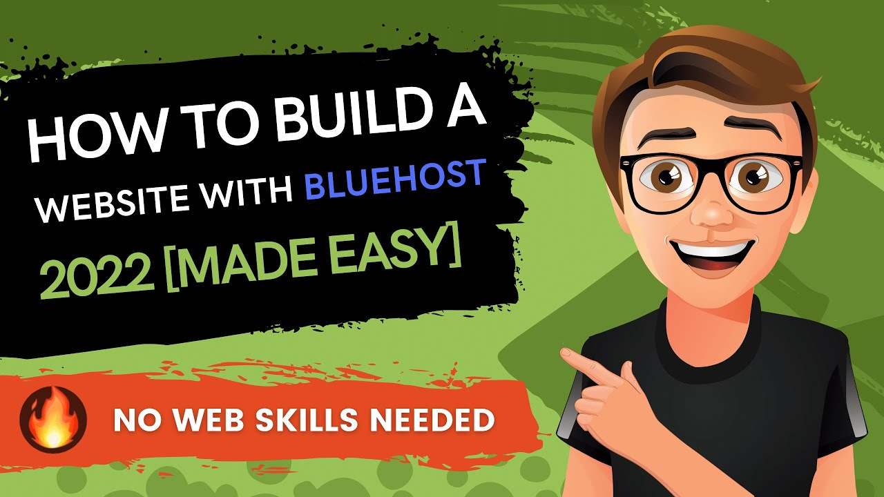 How To Build A Website With Bluehost 2021 [Made Easy]