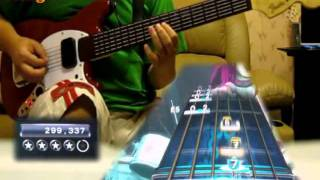 RB3 - Barracuda - Pro Guitar Expert Leaderboard #1 GS (hand zoom)
