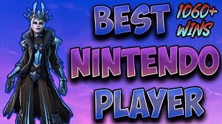 Fortnite Best Nintendo Switch Player 1000+ Wins! (Solos,Scrims/ Duos With Members!)