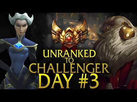 ROTATION DO CBLOL NO OURO - UNRANKED TO CHALLENGER: Dia 3 / Ouro 2
