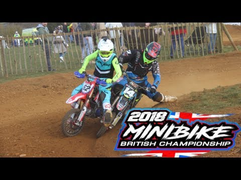 2018 UK Minibike Nationals-Dirt Bike-Pit Bike Racing !!