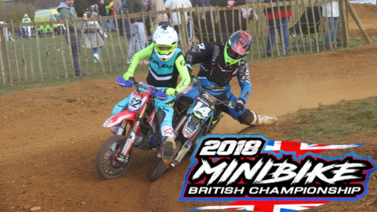 2018 UK Minibike Nationals-Dirt Bike-Pit Bike Racing !!