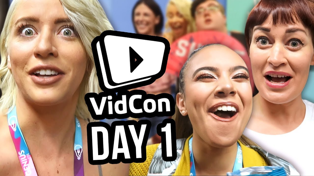 We DIDN'T Sneak into VidCon?! | Day 1 as Featured Creators!