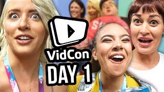 We DIDN'T Sneak into VidCon?!   Day 1 as Featured Creators!