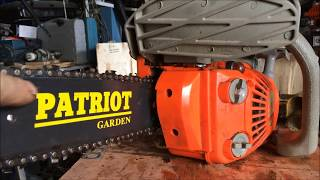 видео Мотобур про пилу бензиновую