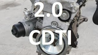 How to replace timing belt cambelt on 2.0 cdti JTDm Insignia Zafira Astra Alfa Romeo A20DTH A20DT