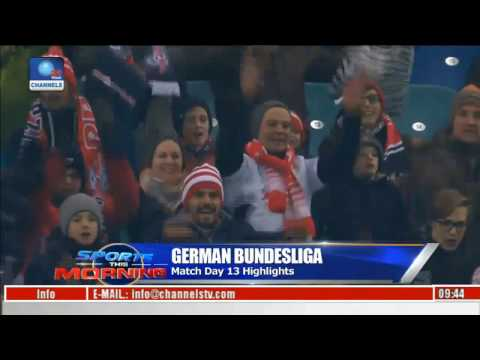 German Bundesliga Match Day 13 Highlight