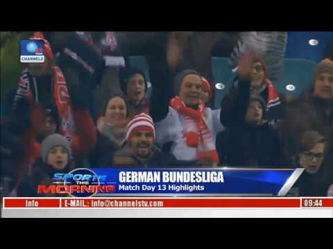 German bundesliga match day 13 highlight