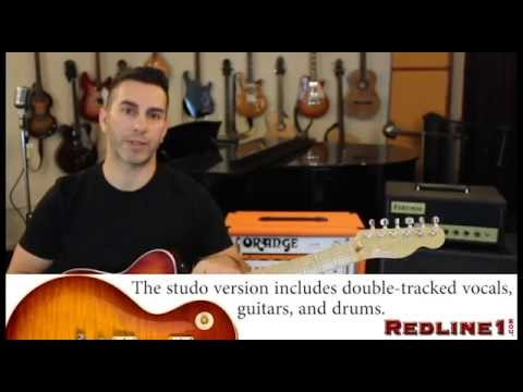 "*TABS* How to Play ""Train In Vain"" The Clashguitar lessons"