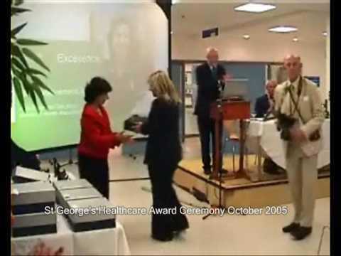 St Georges's NHS Trust London Achievement Award Ceremony 2005
