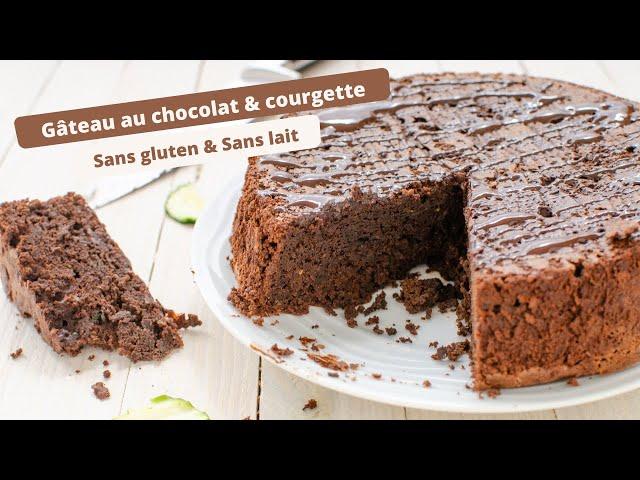 🍫 Gâteau au CHOCOLAT SANS GLUTEN et SANS BEURRE - Ultra moelleux 🍫