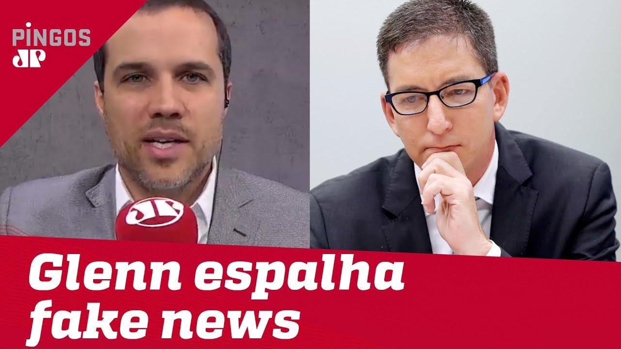 A fake news de Glenn contra Felipe Moura Brasil