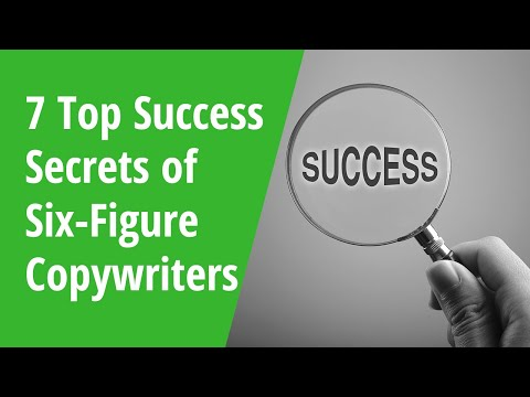 7 Top Success Secrets of Six-Figure Copywriters – Inside AWAI