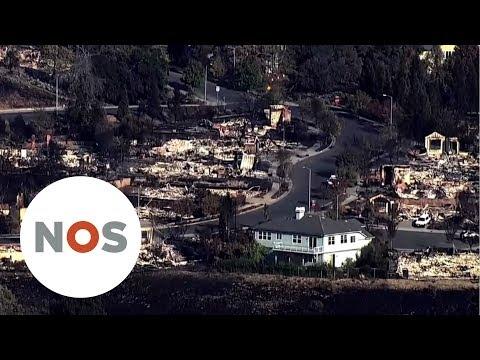 CALIFORNIË: Dodelijkste natuurbranden ooit