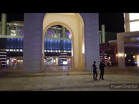 Vitual Tour: Universal Studio Singapore Globe