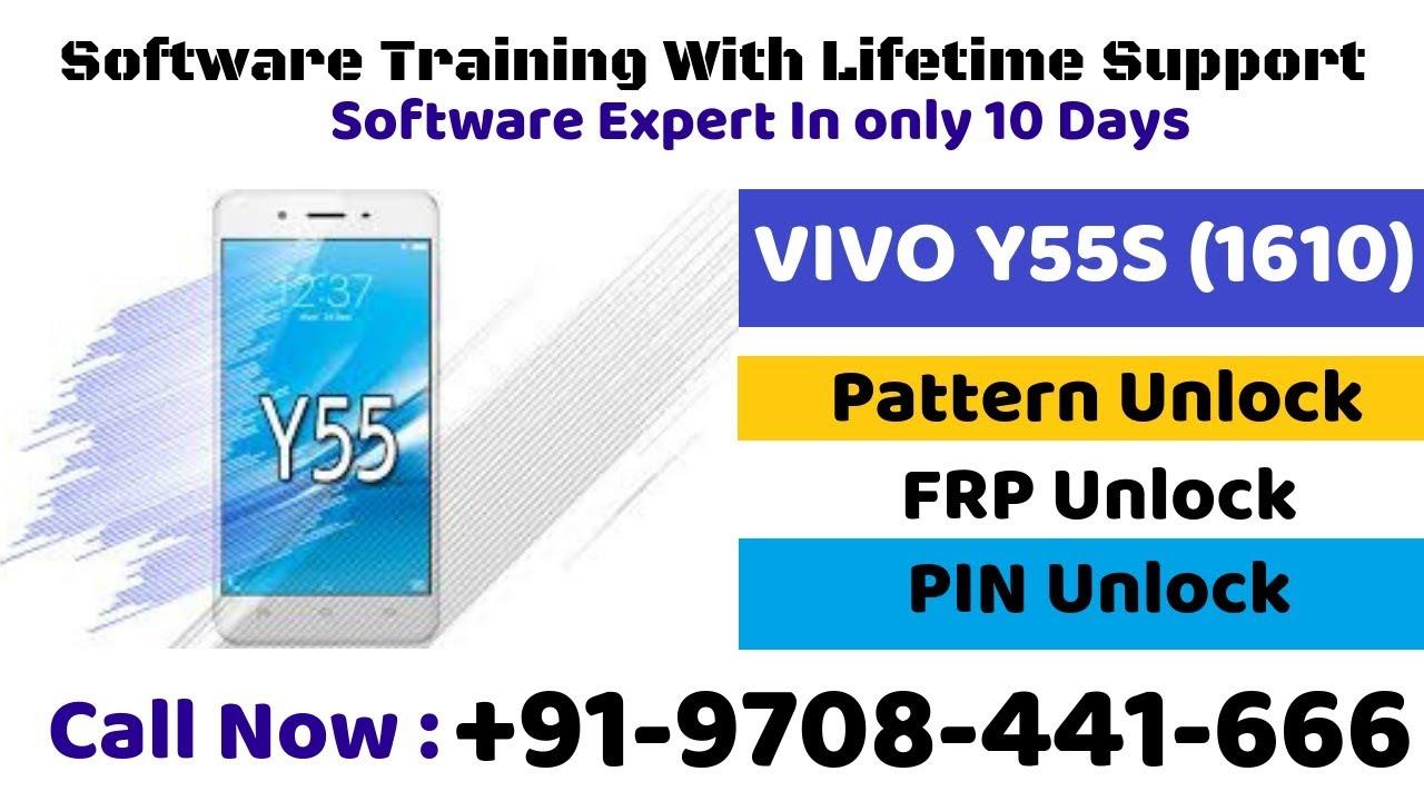 Vivo y55s(1610) unlocking any type of lock in qualcomm CPU(account