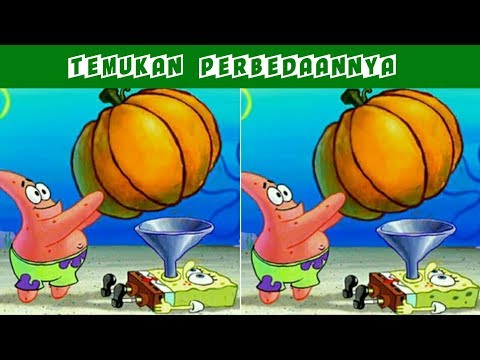 Butuh Ketelitian Extra ! Temukan Perbedaan Pada Gambar Berikut - Edisi Spongebob Squarepants