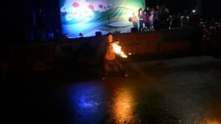 Огненное шоу в омске день города
