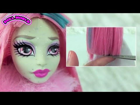 Monster High Doll Makeovers Rochelle Goyle Venus McFlytrap