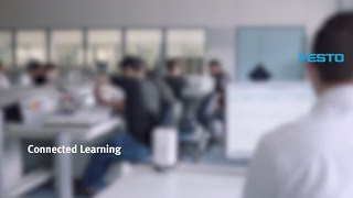 The multimedia learning concept Connected Learning - Festo Didactic (1/3)