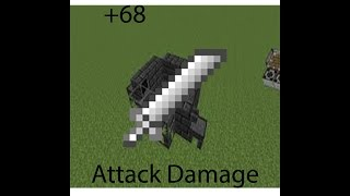 +68 attack damage! Tinkers Construct Cleaver