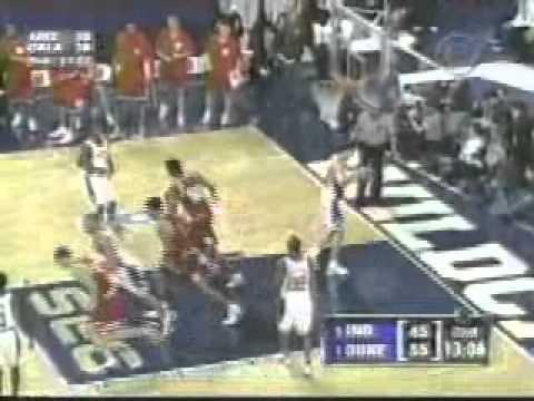 Indiana VS #1 Duke in 2002 NCAA Sweet 16