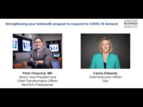 Strengthening Your Telehealth Program to Respond to COVID-19 Demand