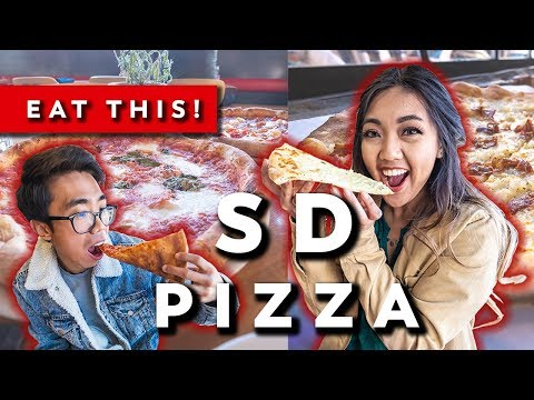 🍕 BEST NY Pizza On The WEST COAST + DELICIOUS Potato Pizza || || EAT THIS! ‣ San Diego Food Guide