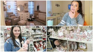 Holiday Decor Shopping w/ Kenz + Nursery Update!