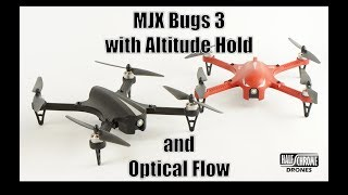 Half Chrome: An MJX Bugs 3 with Altitude Hold and Optical Flow