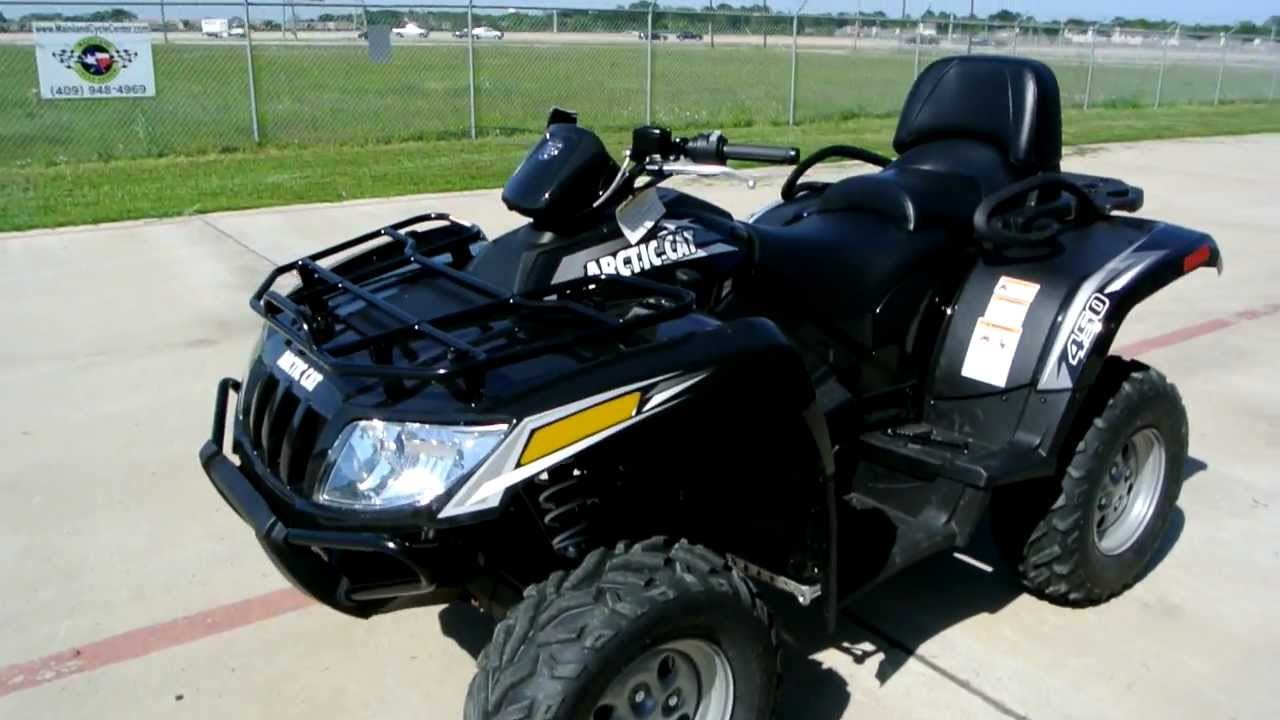 Review  2012 Arctic Cat Trv 450i Two Rider Atv