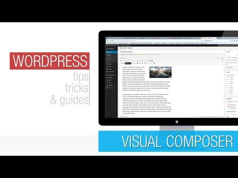 Wordpress Tutorial: Visual Composer Basics 2 - Front End Editor ...