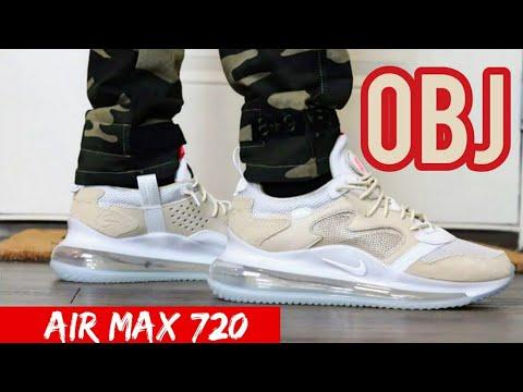 nike air max 720 obj on feet