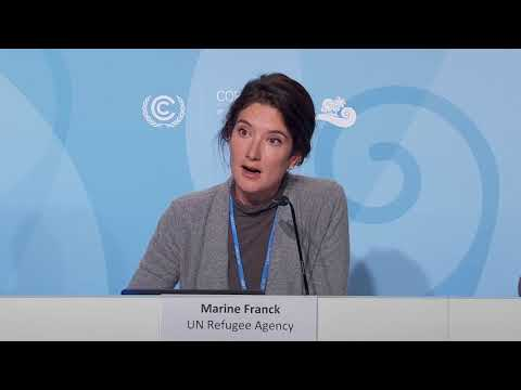 Press briefing on human mobility and climate change at COP23